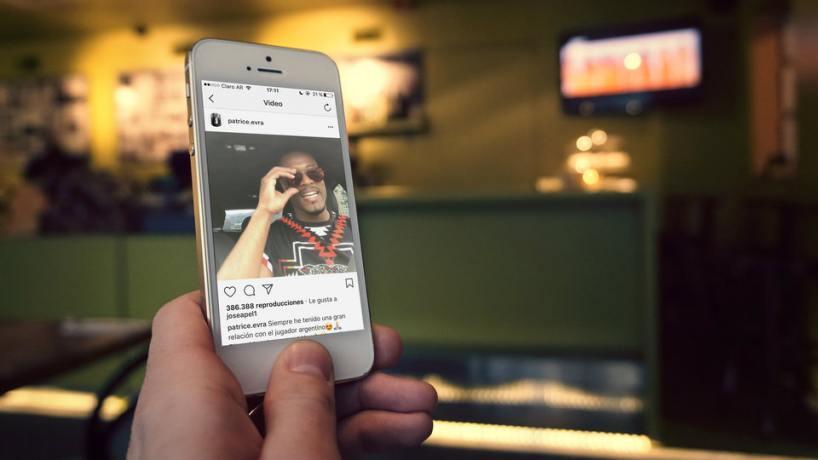 Evra reaparece con divertido video hablando como argentino