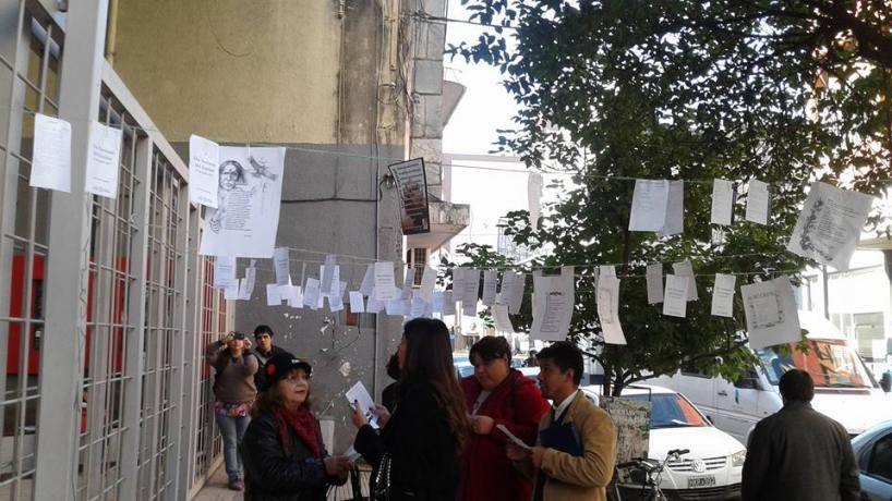 Por el Día del Escritor, el Ente Cultural regaló poemas