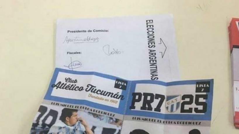 En una escuela aparecieron boletas de Luis Rodríguez — Insólito