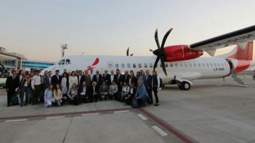 Avianca realizó su primer vuelo entre Tucumán y Puerto Iguazú