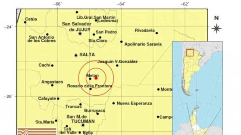 Misterio por un extraño fenómeno antes de un sismo — Salta