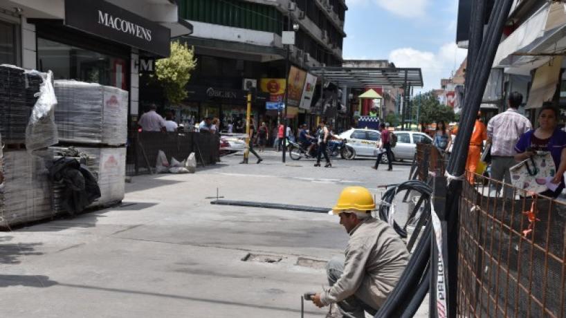 Por tres semanas estará cortado el tránsito en la City tucumana — Atención