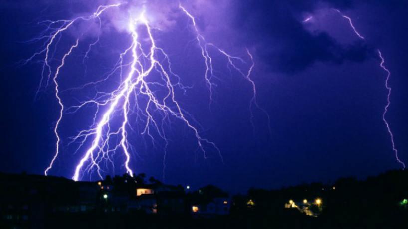 Se anuncia una jornada con lluvias y tormentas en Santiago