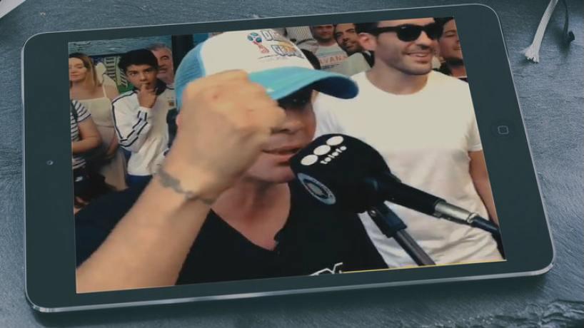 Espectáculos: Delirio de argentinos en Rusia por un show de Pablo Lescano