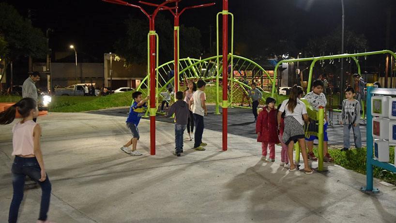 Así quedó el nuevo parque inclusivo en El Provincial ...