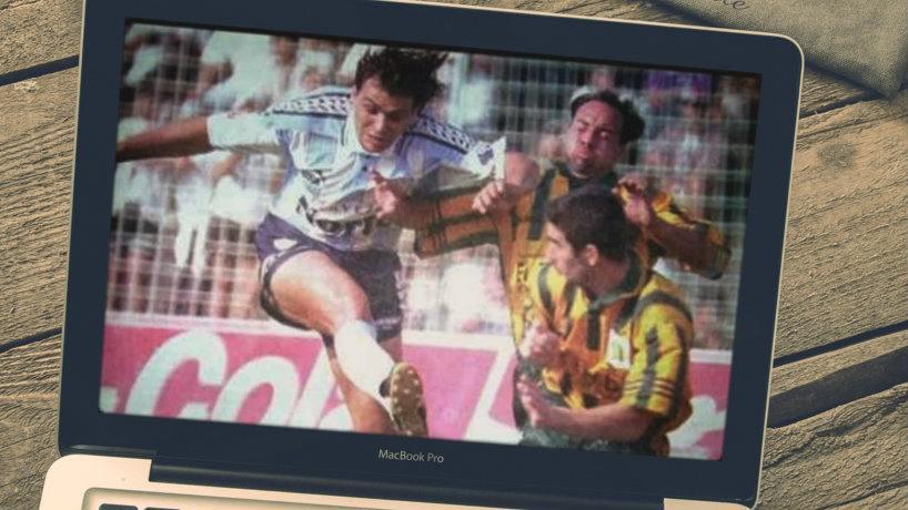 Pura potencia: así rompía redes el 'Cota' Álvarez en Atlético Tucumán - el tucumano