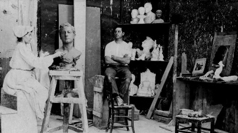 Se cumplen 153 años del nacimiento de la artista tucumana Lola Mora - el tucumano