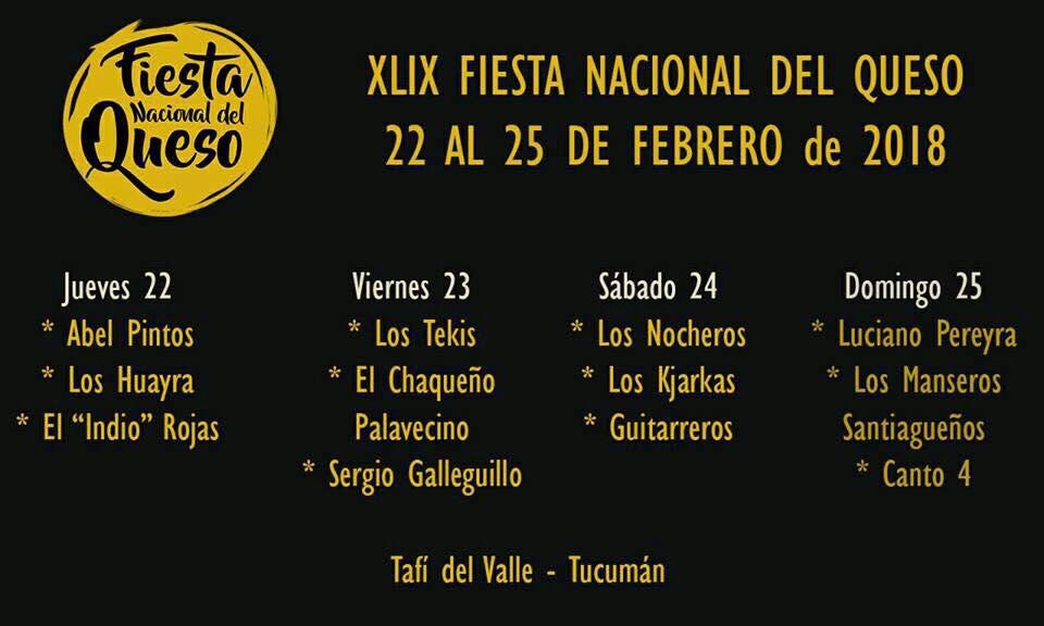 EN VIVO | Mirá la 1ª noche del Festival del Queso en Tafí del Valle